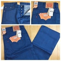 Men's Levi's 501 Shrink To Fit Straight Leg Button Fly Size 40X30 MSRP $68