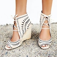Jeffrey Campbell Womens Serena Wedge