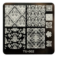 High Quality DIY Nail Art Image Stamp Stamping Plates Manicure Template