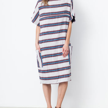 Ace & Jig Port Dress in Chore