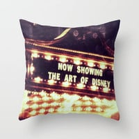 disney show Throw Pillow by Star4ever  | Society6