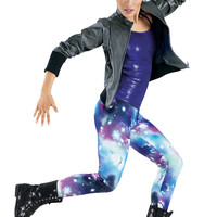 Leather Jacket Galaxy Legging -Weissman Costumes