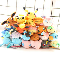 23Style Super Cute Pokemon Plush Pendant Keychian Toys Pikachu Soft Stuffed Doll Figure Toys For Kids Gift