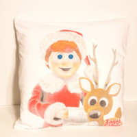 Santa Claus Is Comin To Town Pillow