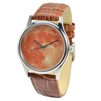 Moon Watch (Orange) - Free shipping worldwide
