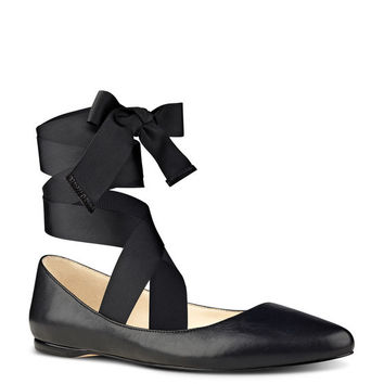 Nine West Samara Interchangeable Ribbon Flats