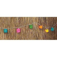 Fun Express Japanese Bright Colored Paper Lanter Light String Set
