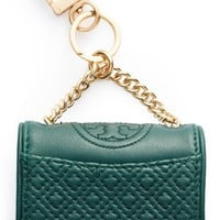 Tory Burch 'Lil Fleming' Nappa Leather Bag Charm | Nordstrom