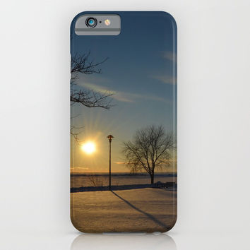 Sun Down iPhone & iPod Case by Stevestones