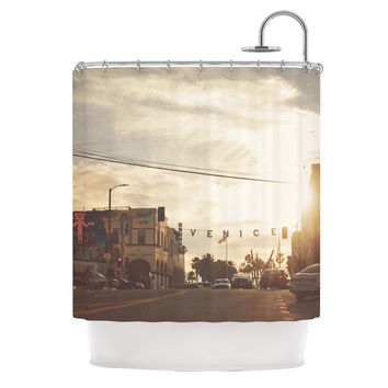 "Myan Soffia ""Winter in Venice"" Clouds Sky Shower Curtain"