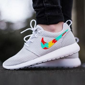 Custom Nike Roshe Run sneakers, Womens nike, Tribal design, cute design, womens custom