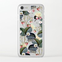 Strawberry Brush Hide-Out #society6 #decor #buyart Clear iPhone Case by 83 Oranges™