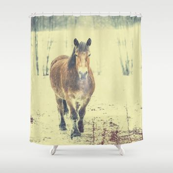 Wandering beauty Shower Curtain by HappyMelvin | Society6