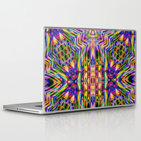 Funkydelica #2 Laptop & iPad Skin by Webgrrl