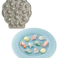 mini seashell tea cakes pan