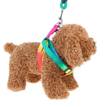 7 Color Chest Straps Pet Traction Ropes Dogs Collars Leads Puppy