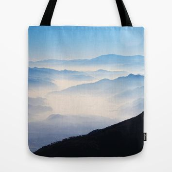 Inhale Tote Bag by Mixed Imagery