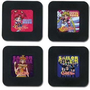 Coasters - Sailor Moon - New Set 1 Toys Anime Licensed ge76601