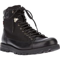 Gucci military style boot