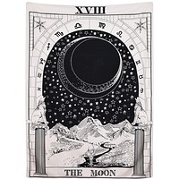The Moon Tapestry 51x59 inches