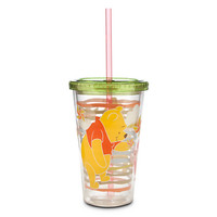 Winnie the Pooh and Piglet Tumbler with Straw
