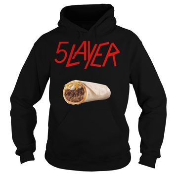 5 layer tacos shirt Hoodie