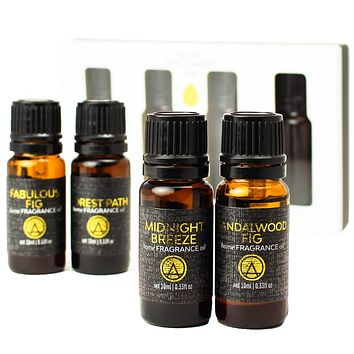 Woods Scented Home Diffuser Fragrance Oils Gift Set