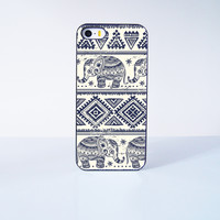 The  Aztec Elephant Pattern Plastic Case Cover for Apple iPhone 5s 5 6 Plus 6 4 4s  5c