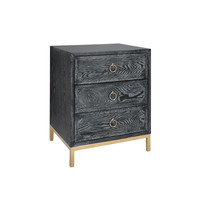 Penelope Bed Side Table  GOLD