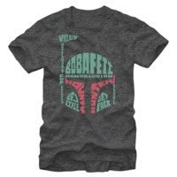 Star Wars Verbiage Fett T-Shirt