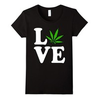Cannabis is Love T-Shirt
