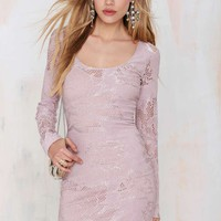 Nasty Gal Lia Lace Dress