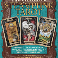 Victorian Steampunk Tarot Cards Set