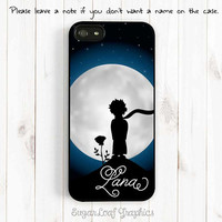 Le Petit Prince iPhone Case, Monogrammed, The Little Prince and Rose iPhone 5S,  iPhone 4s 5 5C Case, Samsung Galaxy S3 S4 S5 Case UL42