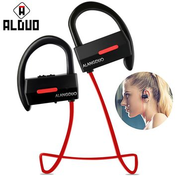 Bluetooth Earphone 4.1 Sport Wireless Earphones Waterproof Stereo Super Bass