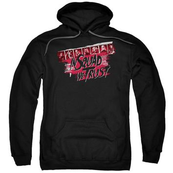 Suicide Squad - In Squad We Trust Adult Pull Over Hoodie