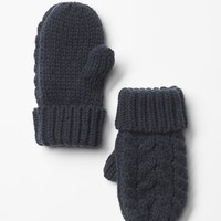 Gap Cable Mittens