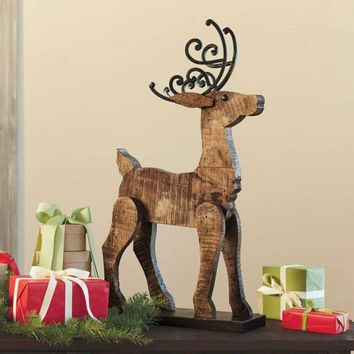 Barn Wood Reindeer