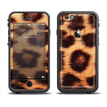 The Real Cheetah Print Apple iPhone 6 LifeProof Fre Case Skin Set