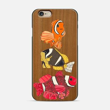 clownfish 3 transparent iPhone 6 case by Sharon Turner | Casetify