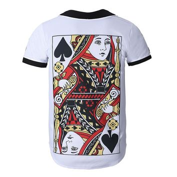 Queen of Spades Bowling Motorcycle Shirt