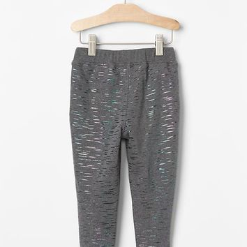 Gap Metallic Stripe Joggers