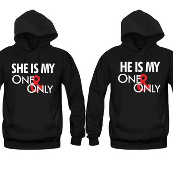 abbaab8511 She is My One and Only - He is My One and Only Unisex Couple Mat