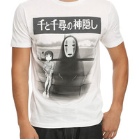 Studio Ghibli Spirited Away Train Scene T-Shirt