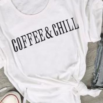 Coffee & Chill T-Shirt