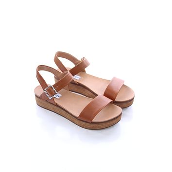 Brown Platform Sandals - Steve Madden