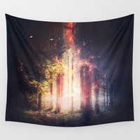 Feed me Wall Tapestry by HappyMelvin