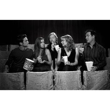 Rules Of Engagement Poster Standup 4inx6in black and white