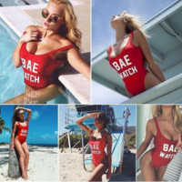 Bae Watch One Piece Swim Suit