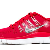 Nike Free Run 5.0 - Crystallized Swarovski Swoosh